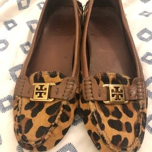 Tory Burch Leopard Print Loafers